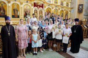 Состоялось вручение свидетельств выпускникам воскресной школы при Вознесенском кафедральном соборе Кузнецка